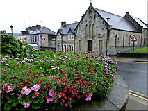 H4472 : Floral display, Omagh by Kenneth  Allen