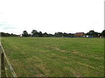 TM0080 : Smallworth Recreation Ground by Adrian Cable