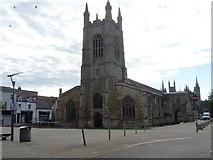 TL1998 : Parish church [1] by Michael Dibb