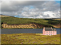 NH5270 : The Pink Lodge - Loch Glass by valenta