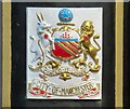 SJ9097 : City of Manchester Coat of Arms by Gerald England