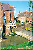 SO8832 : Tewkesbury 1995: over the Mill Avon at Abbey Mills by Ben Brooksbank