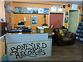 H4572 : Boneyard Records, Market Arcade, Omagh by Kenneth  Allen