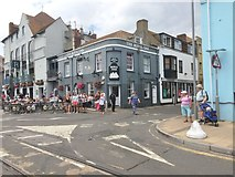 SY6778 : Weymouth, Royal Oak by Mike Faherty