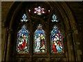 SE0926 : All Souls, Haley Hill, Halifax: baptism window by Stephen Craven