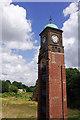 SK5461 : Metal Box Clock Tower, Mansfield by Stephen McKay