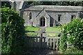 SE8467 : St Nicholas' Church: The inner gate by Bob Harvey