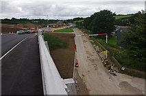 SD4764 : Heysham to M6 link road construction by Ian Taylor