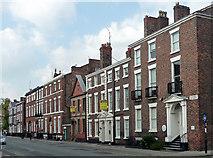 SJ3589 : 35-49 Rodney Street, Liverpool by Stephen Richards