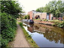 SJ9398 : Still Waters on the Ashton Canal by Gerald England