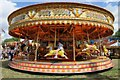 SO8040 : Fairground Carousel ride by Philip Halling