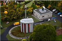 SX9265 : Torquay : Babbacombe Model Village - Weather Centre by Lewis Clarke