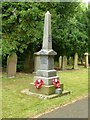 SE6621 : War memorial, Cowick Churchyard by Alan Murray-Rust