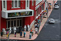 SX9265 : Torquay : Babbacombe Model Village - Cinema by Lewis Clarke