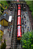 SX9265 : Torquay : Babbacombe Model Village - Railway Station by Lewis Clarke