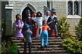 SX9265 : Torquay : Babbacombe Model Village - Wedding Scene by Lewis Clarke
