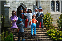 SX9265 : Torquay : Babbacombe Model Village - Wedding Scene by Lewis Clarke