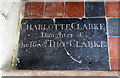 TL6452 : St Peter, Carlton - Ledger slab by John Salmon