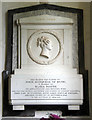 TL6857 : All Saints, Kirtling - Wall monument by John Salmon