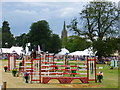 TF1444 : Show jumping in the main ring - Heckington Show 2016 by Richard Humphrey