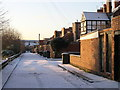 NZ2766 : Back Alley behind Whitefield Terrace, Heaton, Newcastle by Andrew Tryon