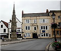 ST4938 : Market cross and the Crown Hotel by Bill Harrison