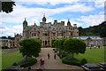 SK8932 : Harlaxton Manor by Julian P Guffogg