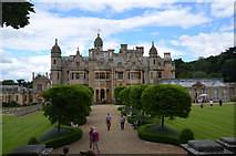 SK8932 : Harlaxton Manor by Julian P Guffogg
