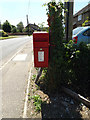 TM0687 : Banham Street Postbox by Adrian Cable