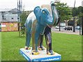 SK3586 : 24 'The Elements of an Elephant' - Sheaf Square by Dave Pickersgill