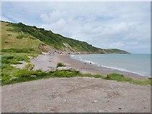 SX9253 : Man Sands beach, near Brixham by Derek Voller