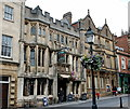 ST4938 : The George and Pilgrim Hotel, High Street, Glastonbury by Bill Harrison