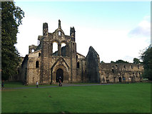 SE2536 : West end of Kirkstall Abbey by Stephen Craven