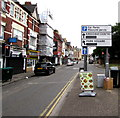 ST3187 : City centre car parks directions sign, Cardiff Road, Newport by Jaggery