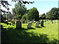TM0375 : St.Mary's Rickinghall Inferior Churchyard by Adrian Cable