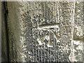 SJ7770 : Cut mark on Goostrey Church by Chris Cursley