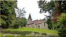 SK7160 : Parish church, St Radegund's, Maplebeck by Chris Morgan