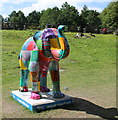 SK3084 : 45 'Elmer's Aunty' - Forge Dam by Dave Pickersgill