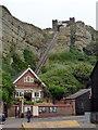 TQ8209 : East Hill Lift, Hastings by PAUL FARMER