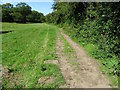 SK3721 : Harpur's Crossing footpath and former tramway by Ian Calderwood
