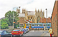 TA0339 : Beverley, 1995: Flemingate level-crossing, with DMU by Ben Brooksbank