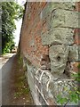 SP2160 : Wall, part of the grounds to Snitterfield House by Philip Halling