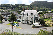 SH5639 : The Queens Hotel, Porthmadog by Richard Hoare