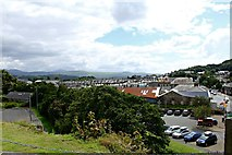 SH5639 : Porthmadog from the War Memorial by Richard Hoare