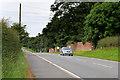 NY3960 : Westbound A689 at Harker Grange by David Dixon