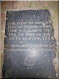 TM3898 : St Gregory, Heckingham: ledger slab (2) by Basher Eyre