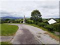 NX6579 : War Memorial in Layby at Balmaclellan by David Dixon
