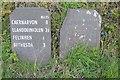 SH5867 : Old Milestones by Keith Evans