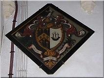 TM2692 : St. Margaret, Topcroft: hatchment (II) by Basher Eyre