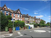 TQ3473 : Underhill Road, Dulwich by Des Blenkinsopp